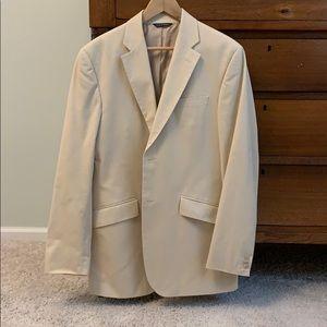 Banana Republic Khaki Suit Jacket